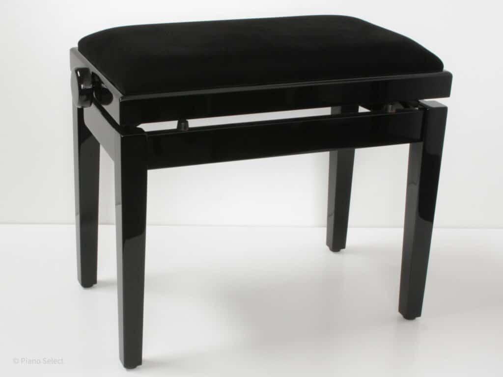 Feurich pianobank verstelbaar zwart