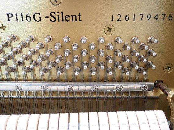 Yamaha P116 silent piano