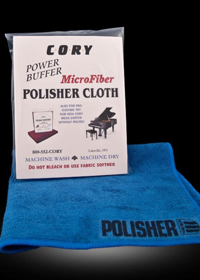 Cory Polisher/Cleaner poetsdoek piano & vleugel