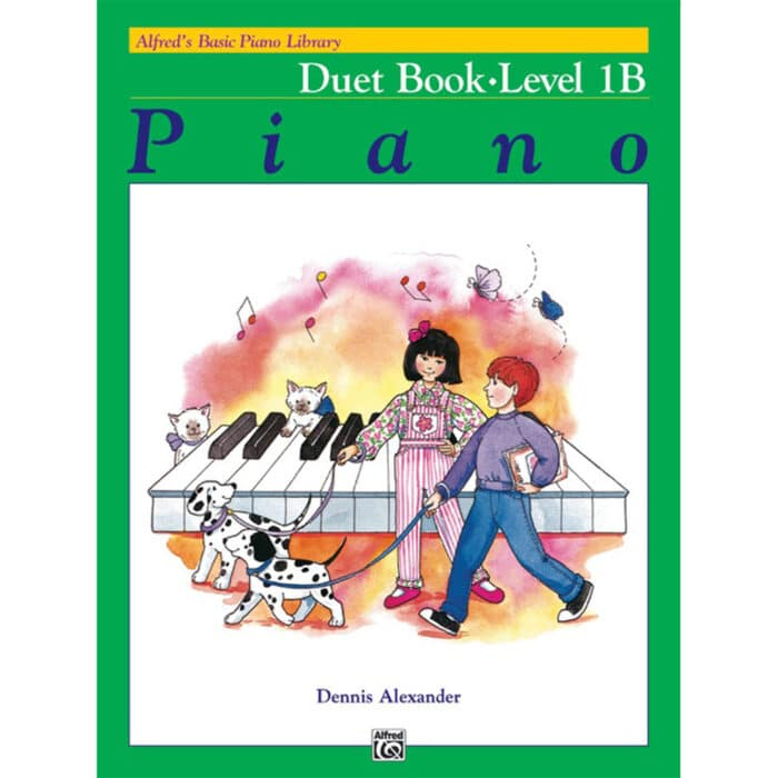 Alfred Basic Piano Library Duet Book 1B