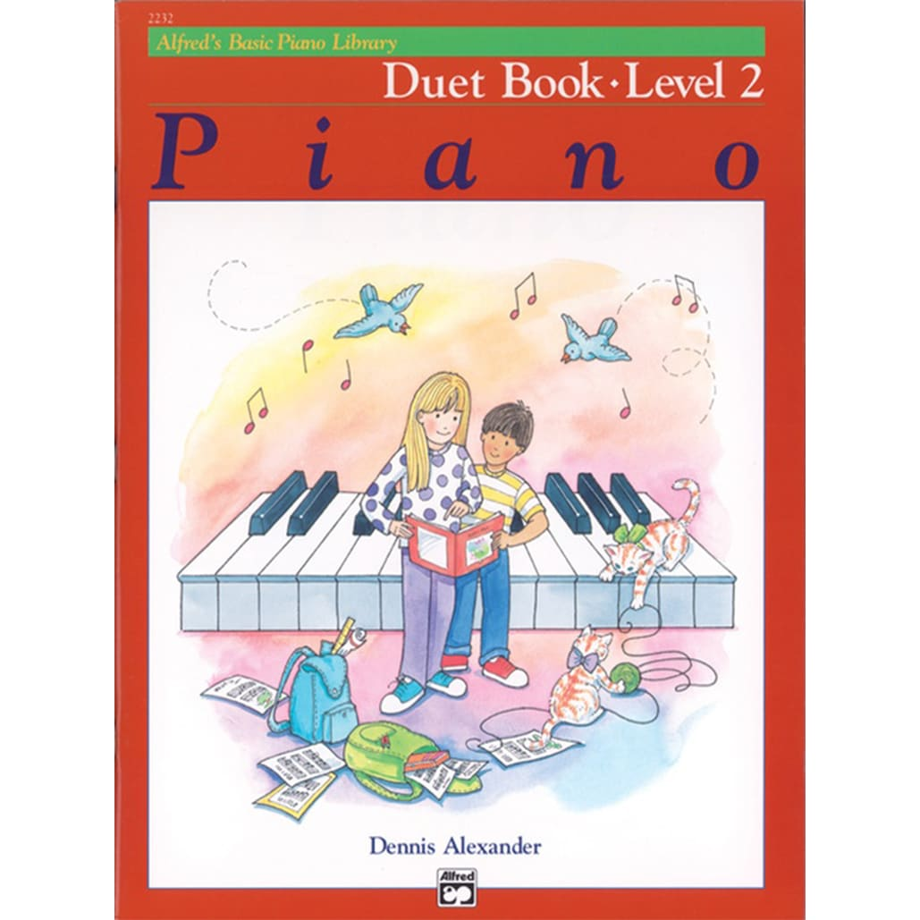 Alfred Basic Piano Library Duet Book 2