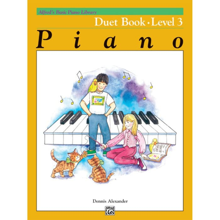 Alfred Basic Piano Library Duet Book 3