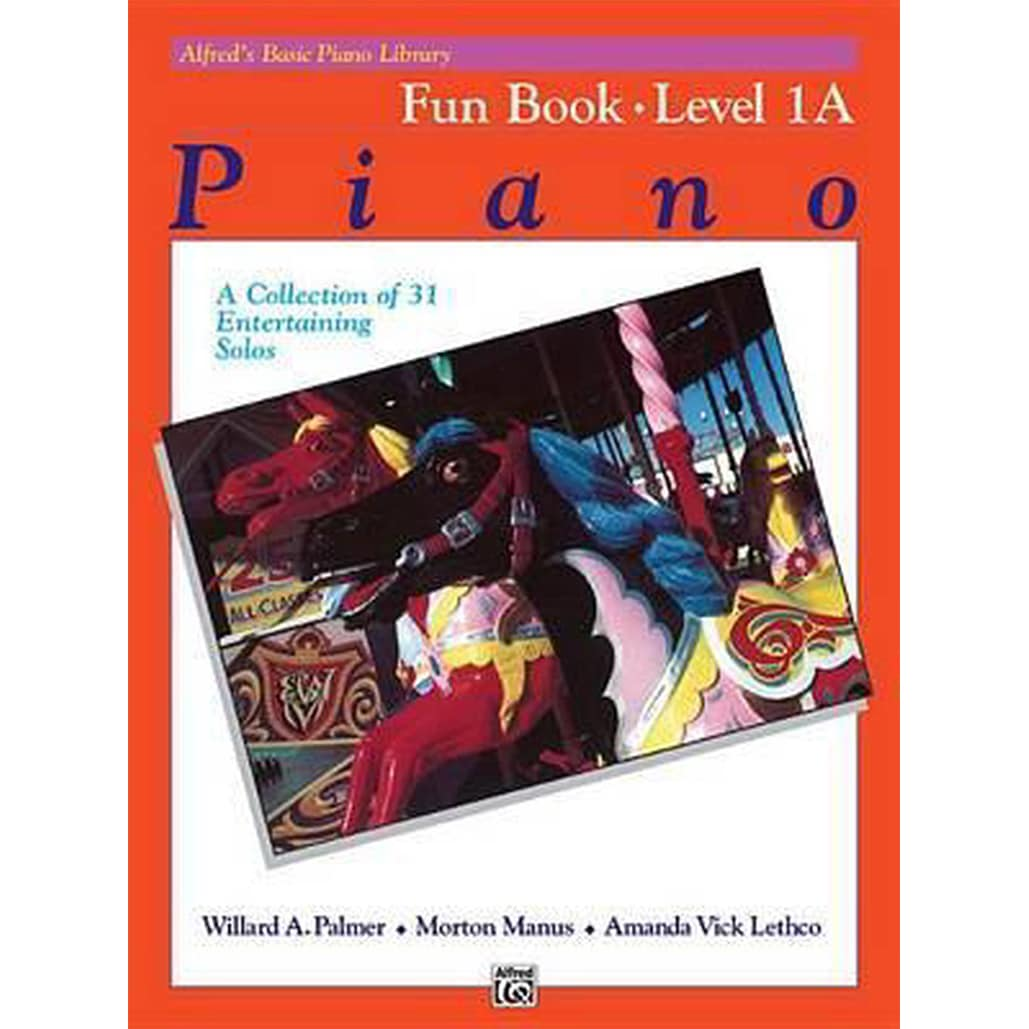 Alfred Basic Piano Library Fun Book 1A