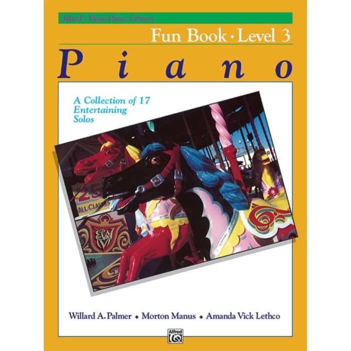 Alfred Basic Piano Library Fun Book 3