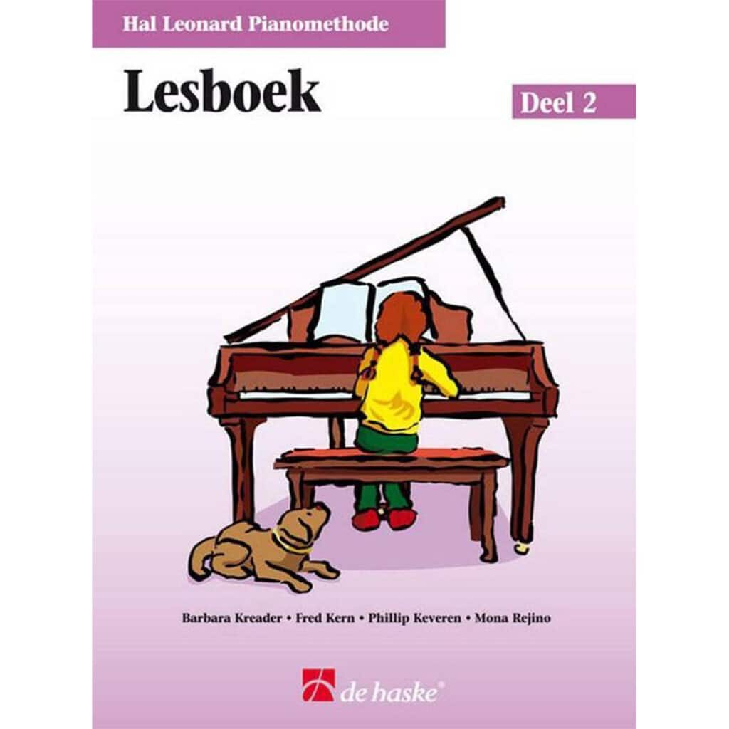 Hal Leonard Pianomethode Lesboek 2