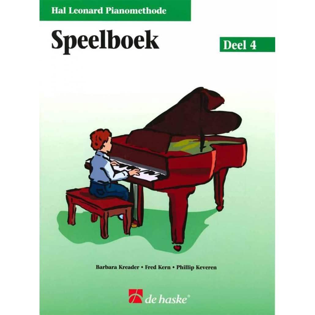 Hal Leonard Pianomethode Speelboek 4
