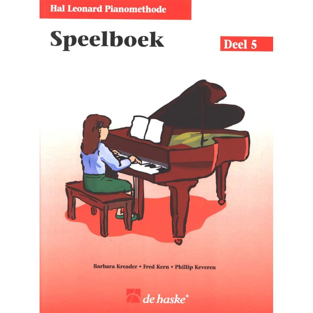 Hal Leonard Pianomethode Speelboek 5
