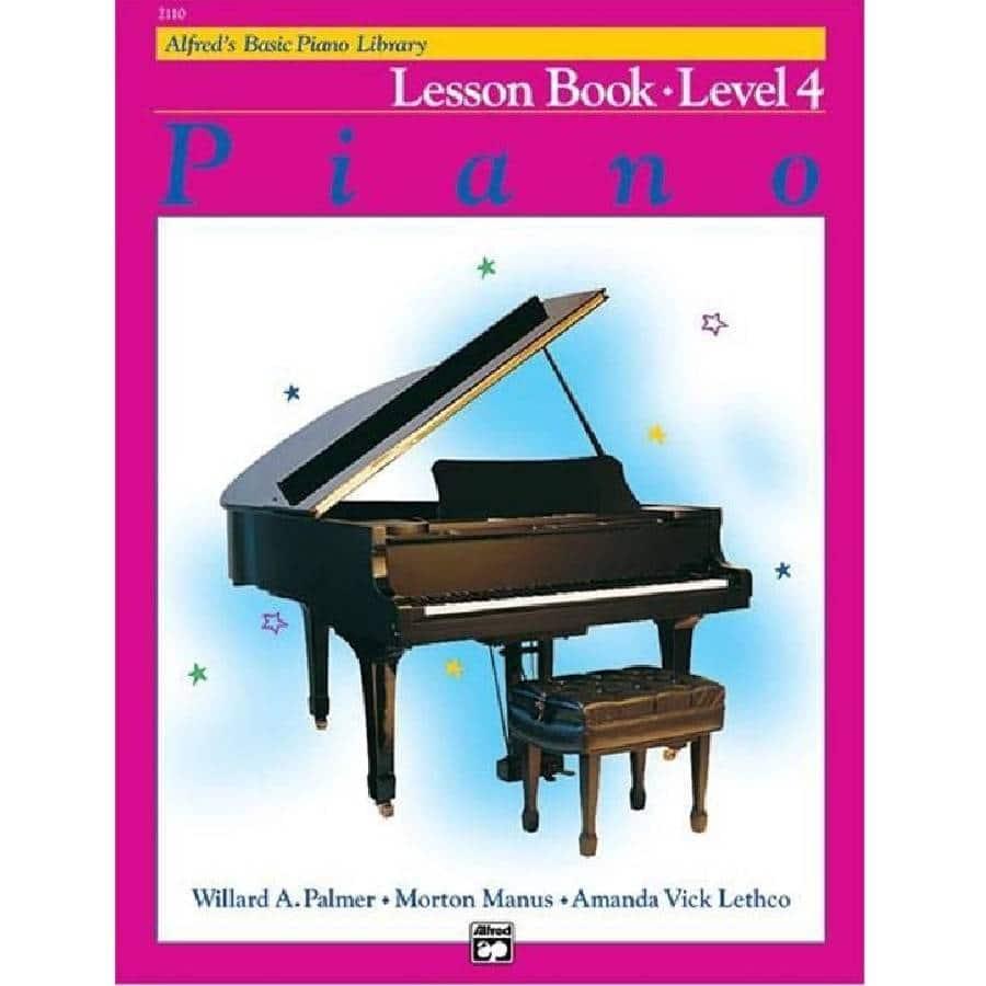 Lesboek Niveau 4 - Alfred Basic Piano Library