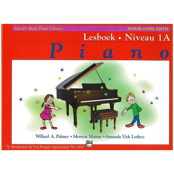 Lesboek Niveau 1A - Alfred Basic Piano Library