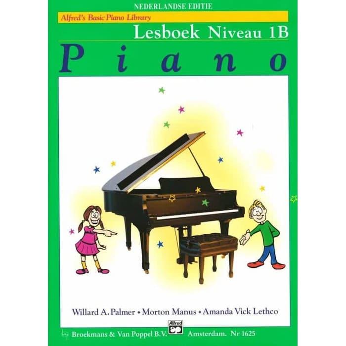 Lesboek Niveau 1B - Alfred Basic Piano Library