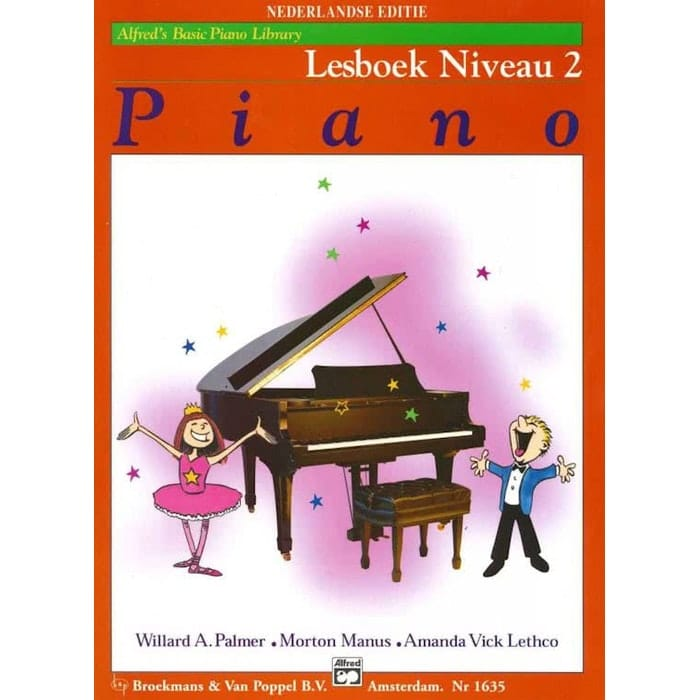 Lesboek Niveau 2 - Alfred Basic Piano Library