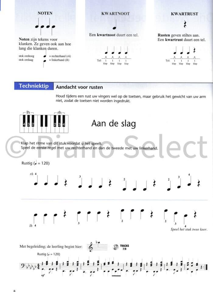 Hal Leonard Pianomethode voor volwassenen deel 1 vb2