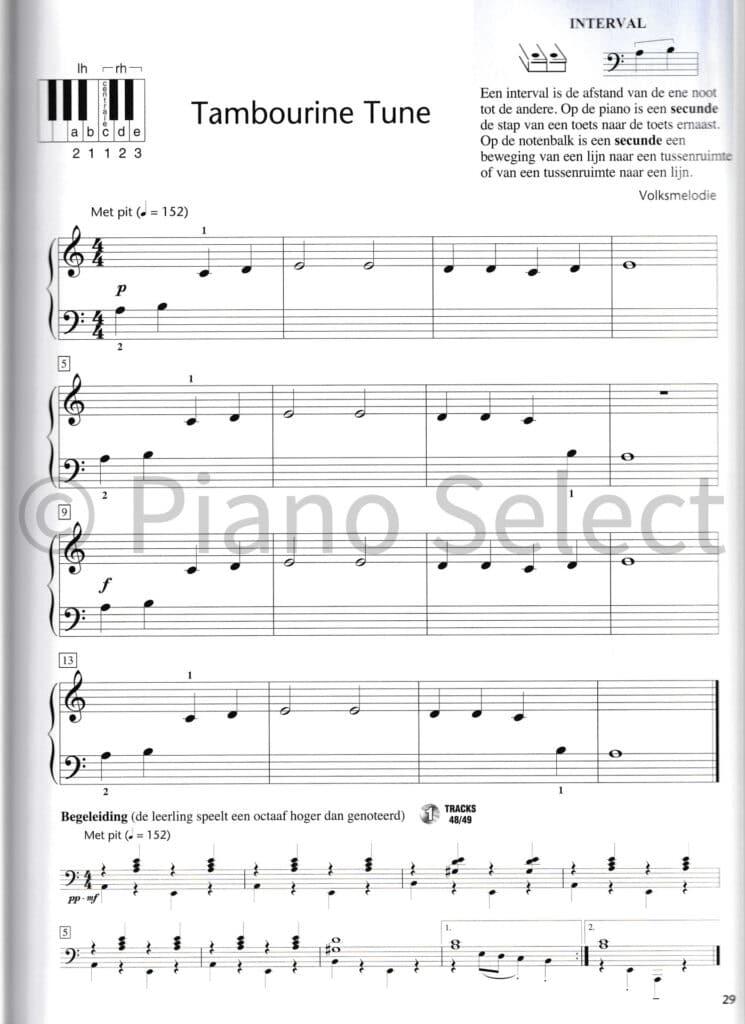 Hal Leonard Pianomethode voor volwassenen deel 1 vb3