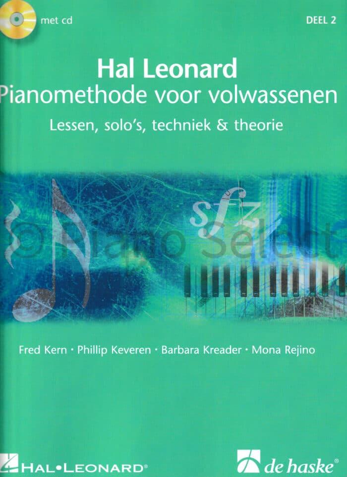 Hal Leonard Pianomethode voor volwassenen deel 2 vb1