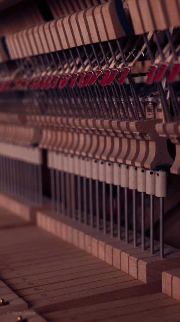 Luchtvochtigheid en omgeving piano