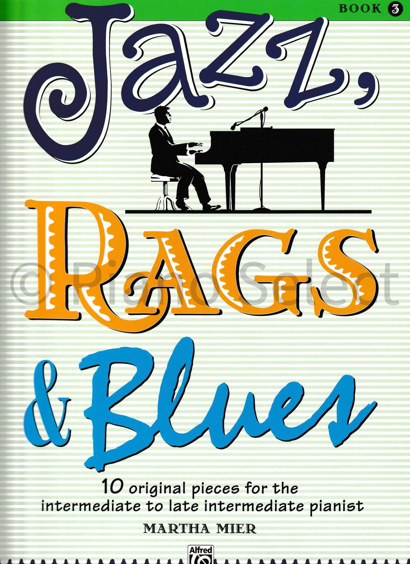 Jazz, Rags & Blues Book 3 vb1