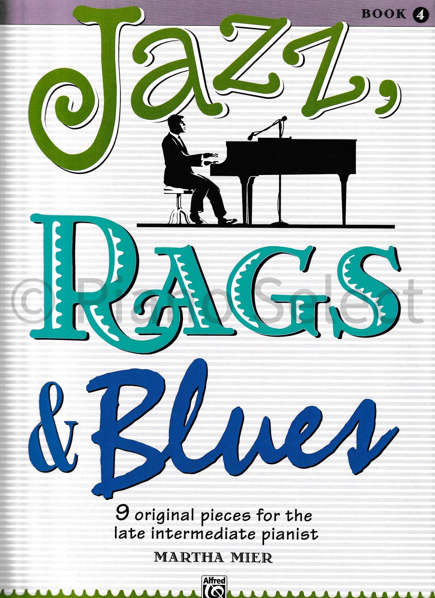 Jazz, Rags & Blues Book 4 vb1