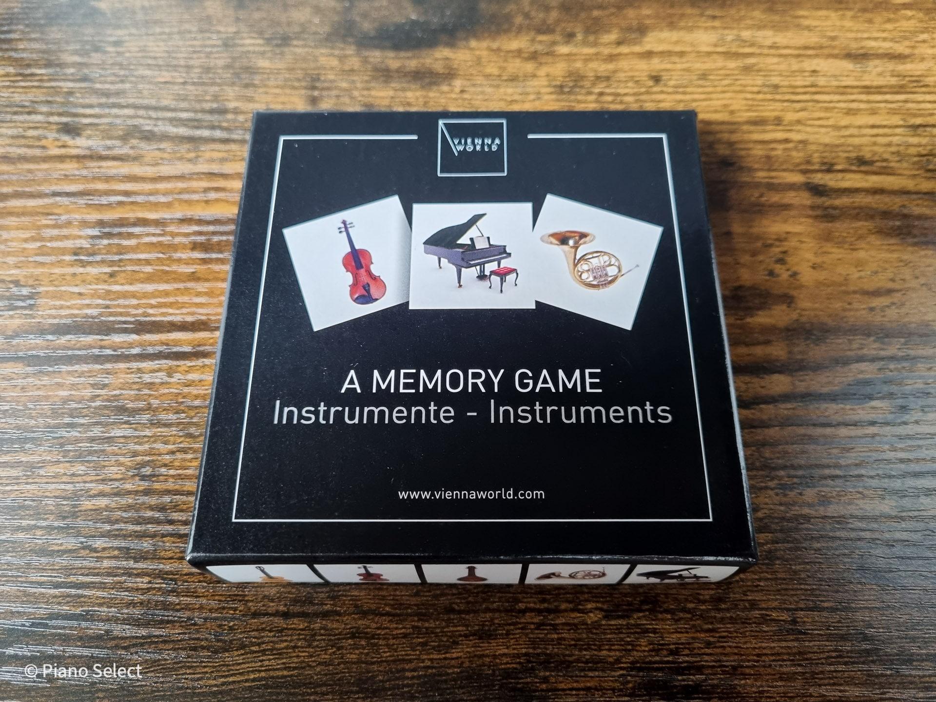 Memory muziek - muziekinstrumenten