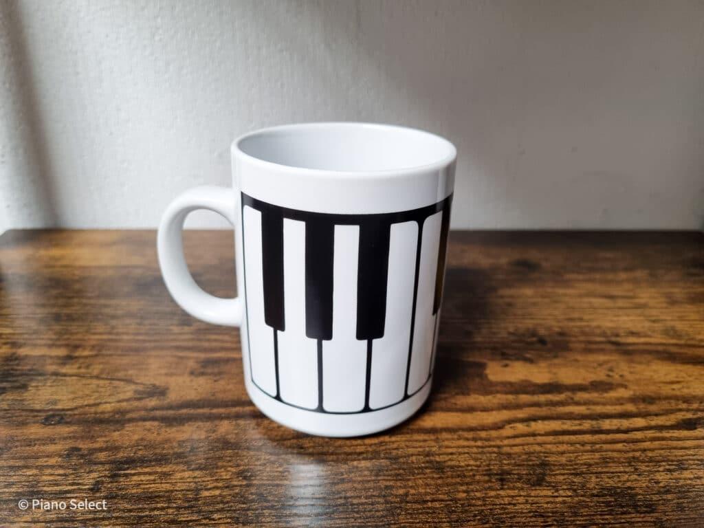 Mok muziek - Toetsen design
