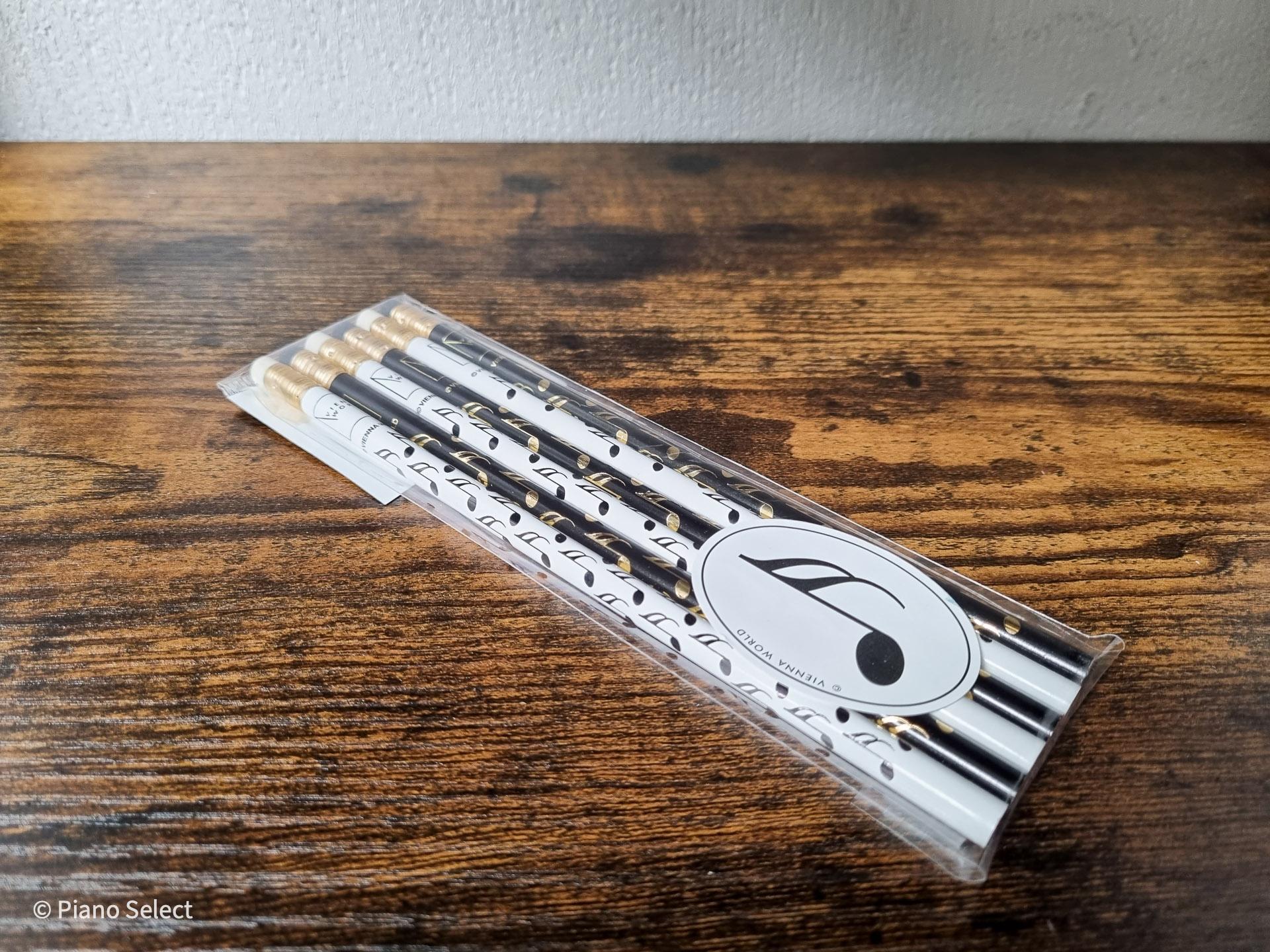 Potloden set muziek - Noten design