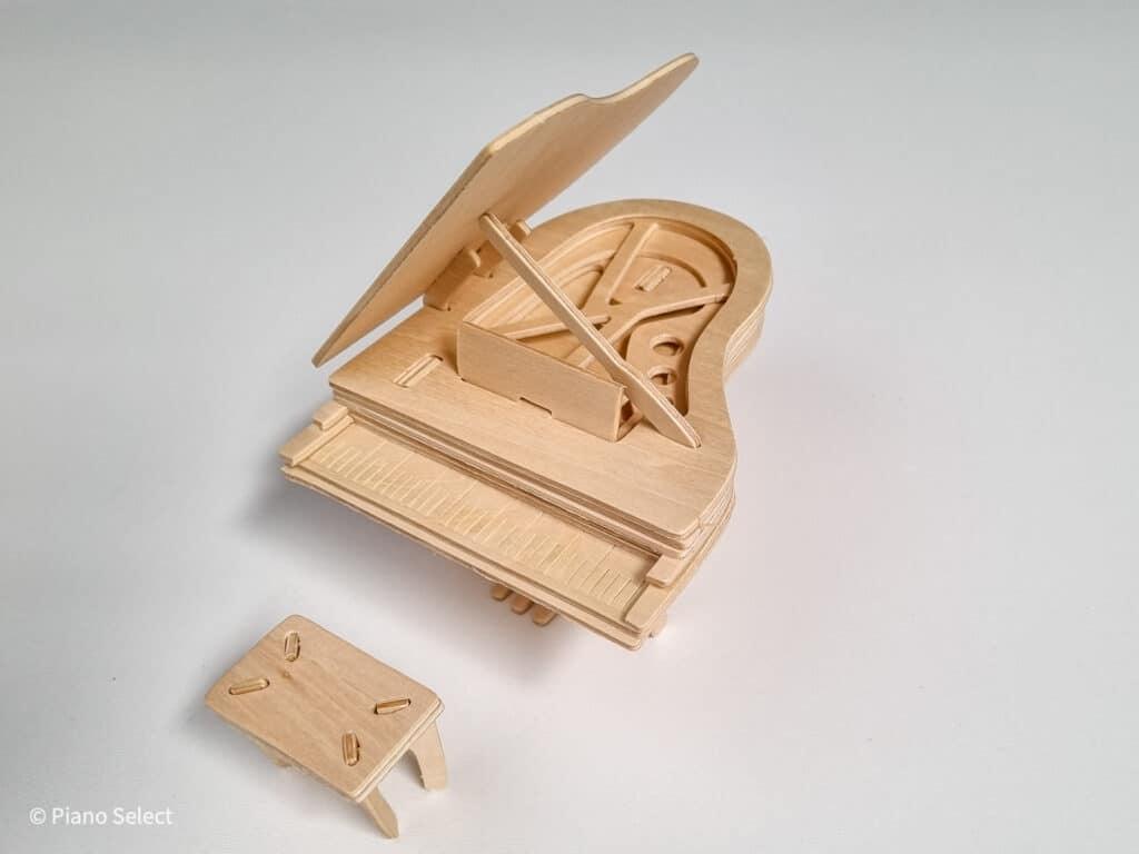 Vleugel piano bouwpakket - Quay Woodcraft