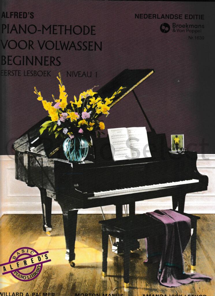 Alfreds Pianomethode voor volwassenen Beginners deel 1 vb1