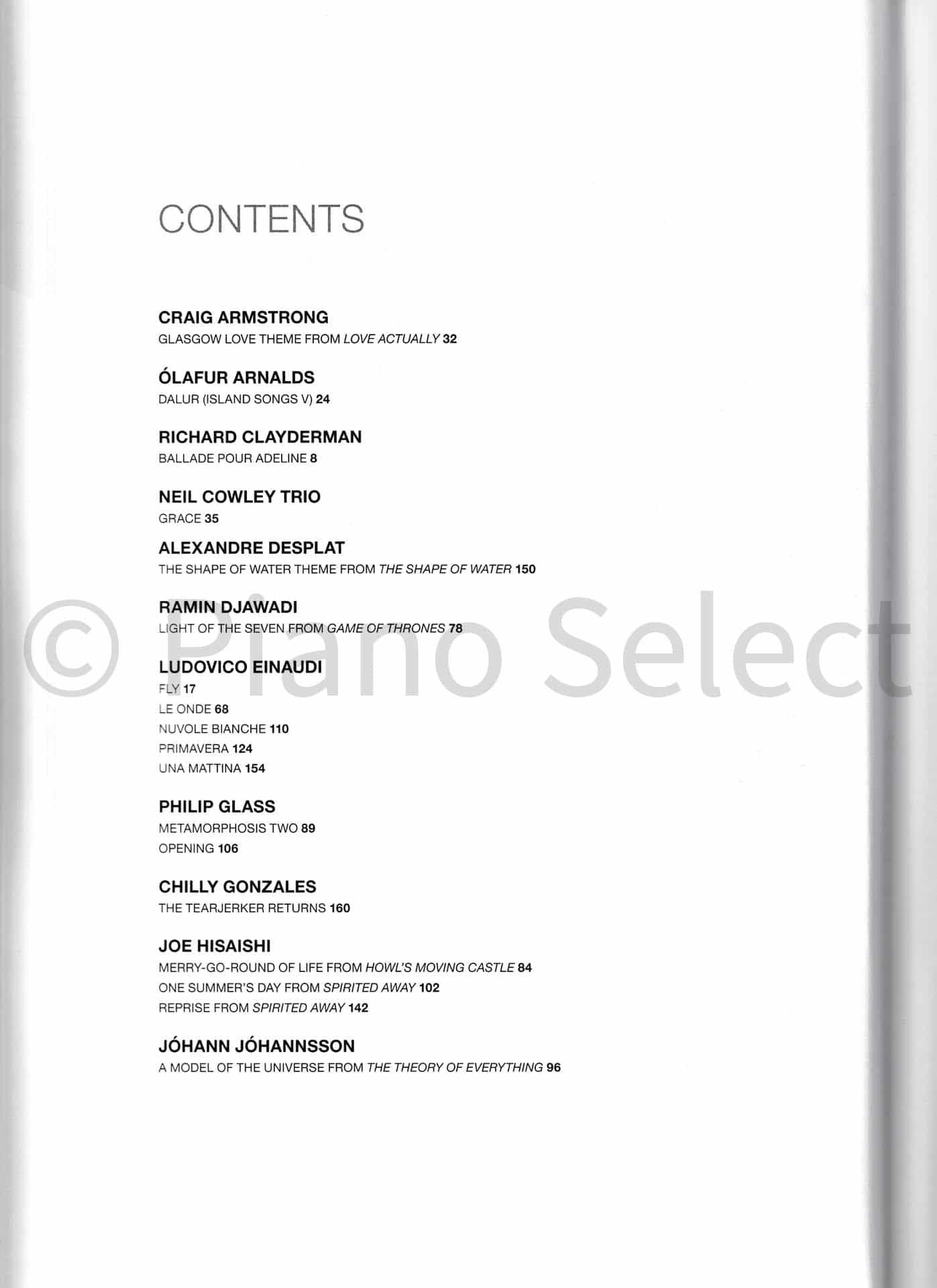 Contemporary Piano Masters - 40 pianostukken van 20 bekende componisten
