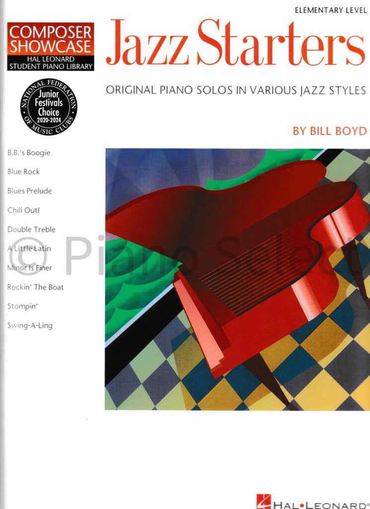 Bill Boyd Jazz Starters 1 Hal Leonard Student Piano Library