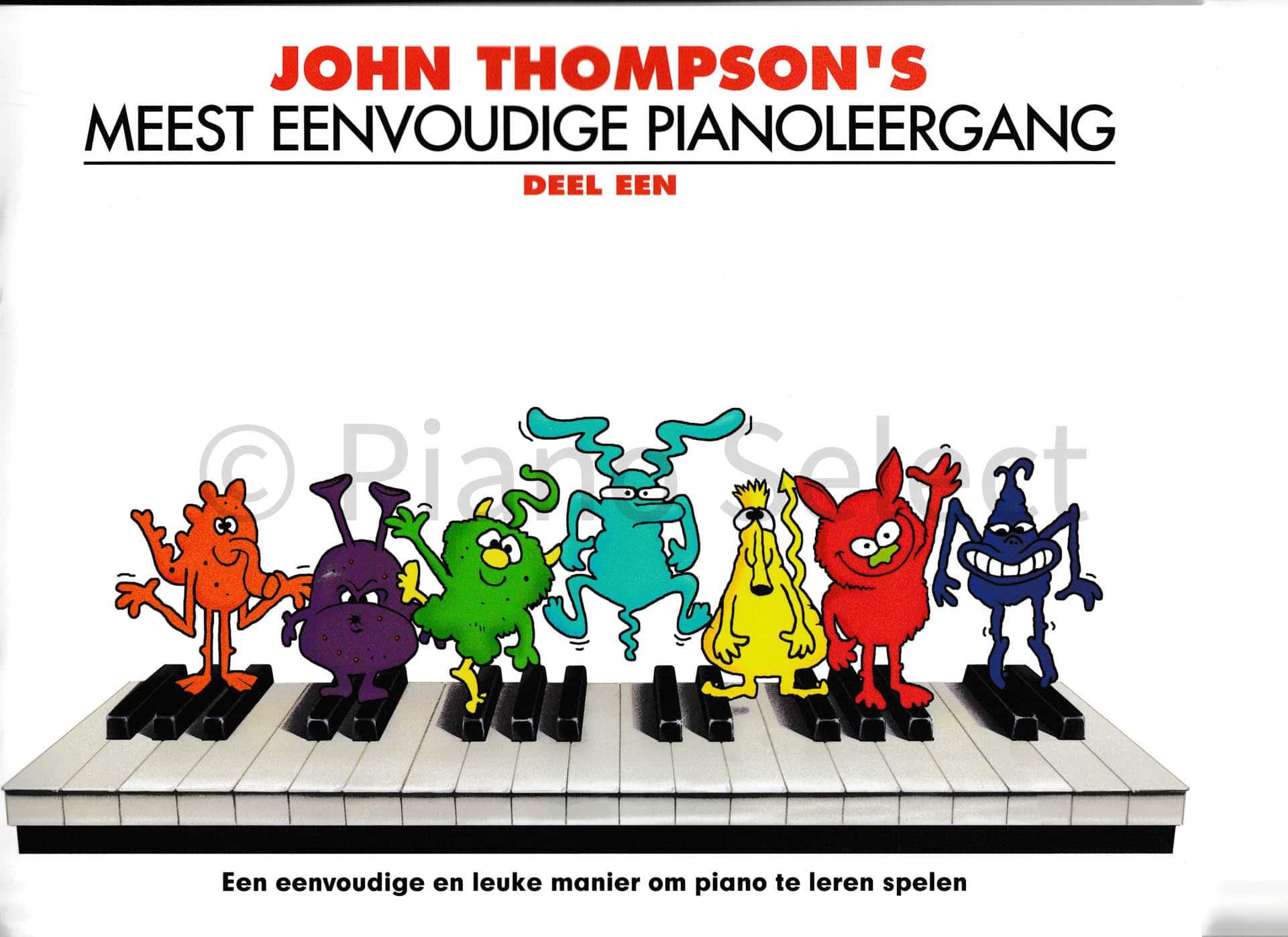 John Thompsons Meest eenvoudige pianoleergang 1