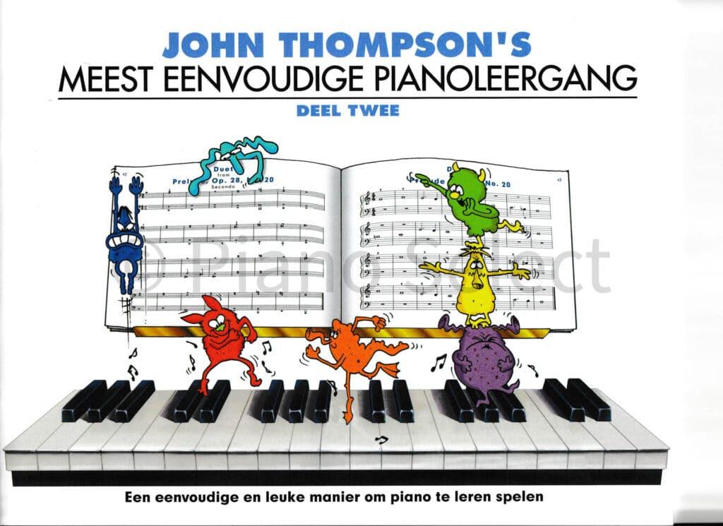 John Thompsons Meest eenvoudige pianoleergang 2