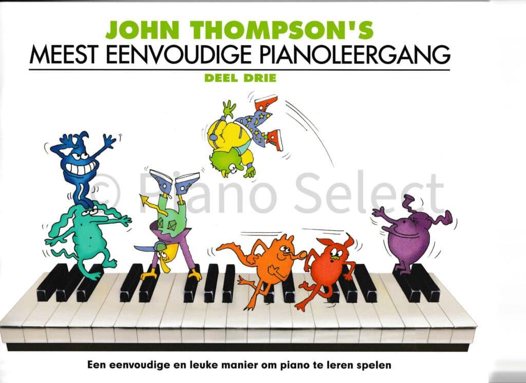 John Thompsons Meest eenvoudige pianoleergang 3